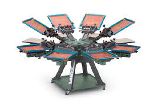V2000HD Vastex Premium Manual Screen Printing Press