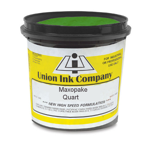 Union Maxopake Bright Green - Quart