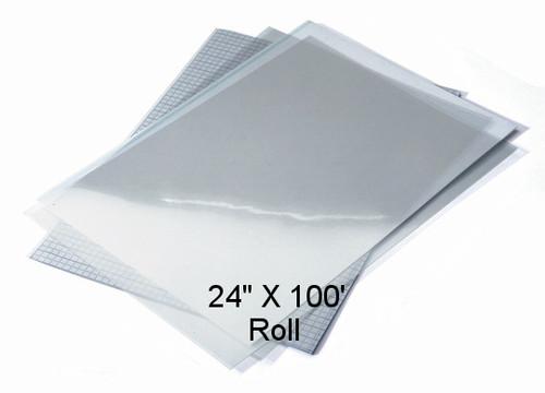 """Waterproof Screen Positive Inkjet Film 24""""X100' Roll"""