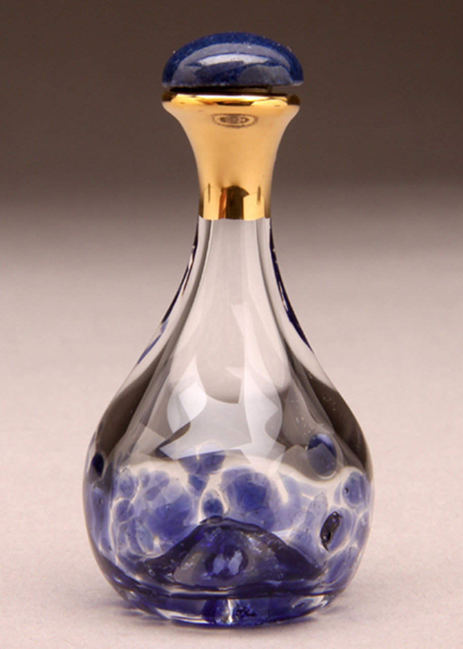 Blue Contemporary Tear Bottle