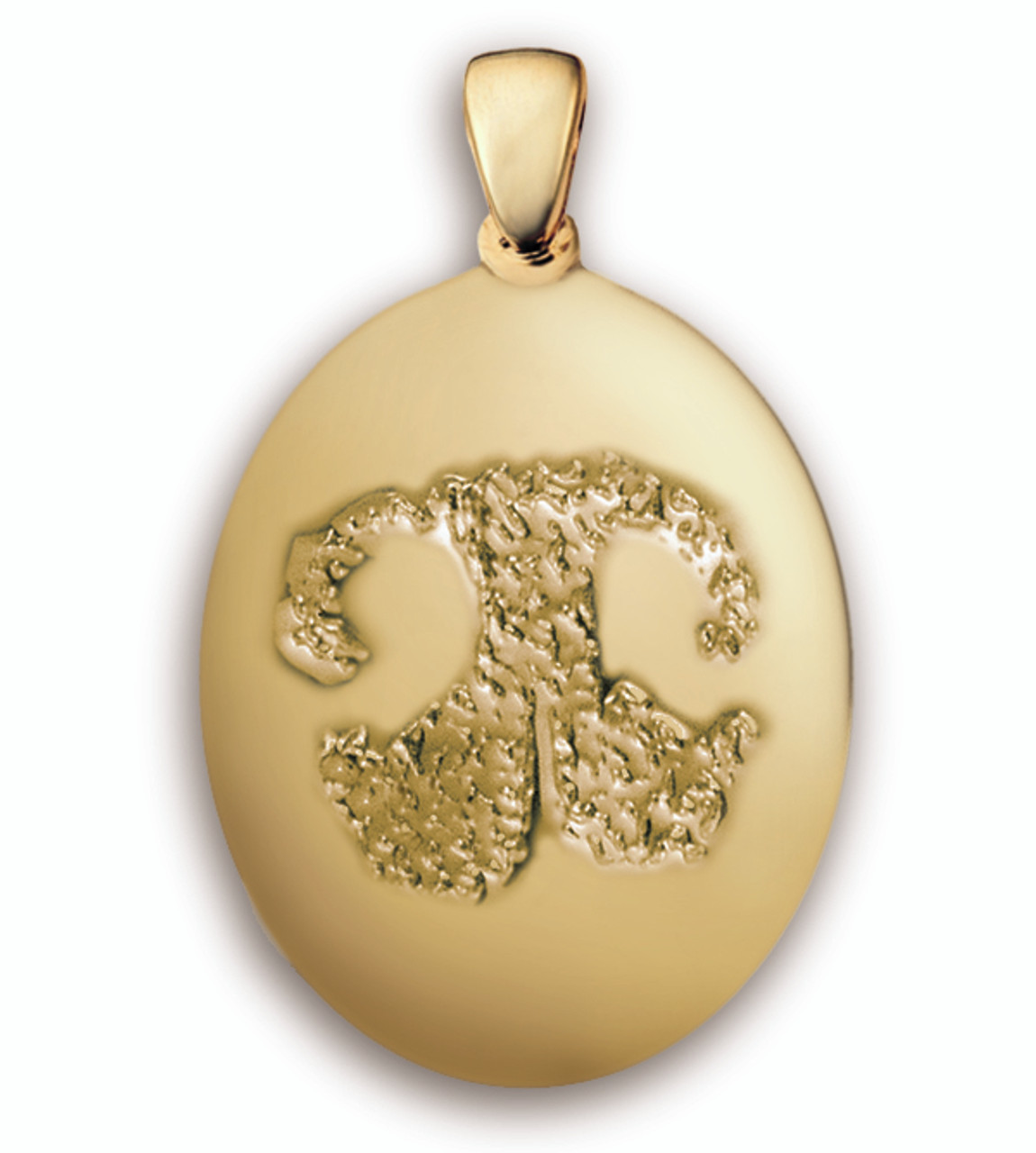 Grand Charm in Gold with Nose Print