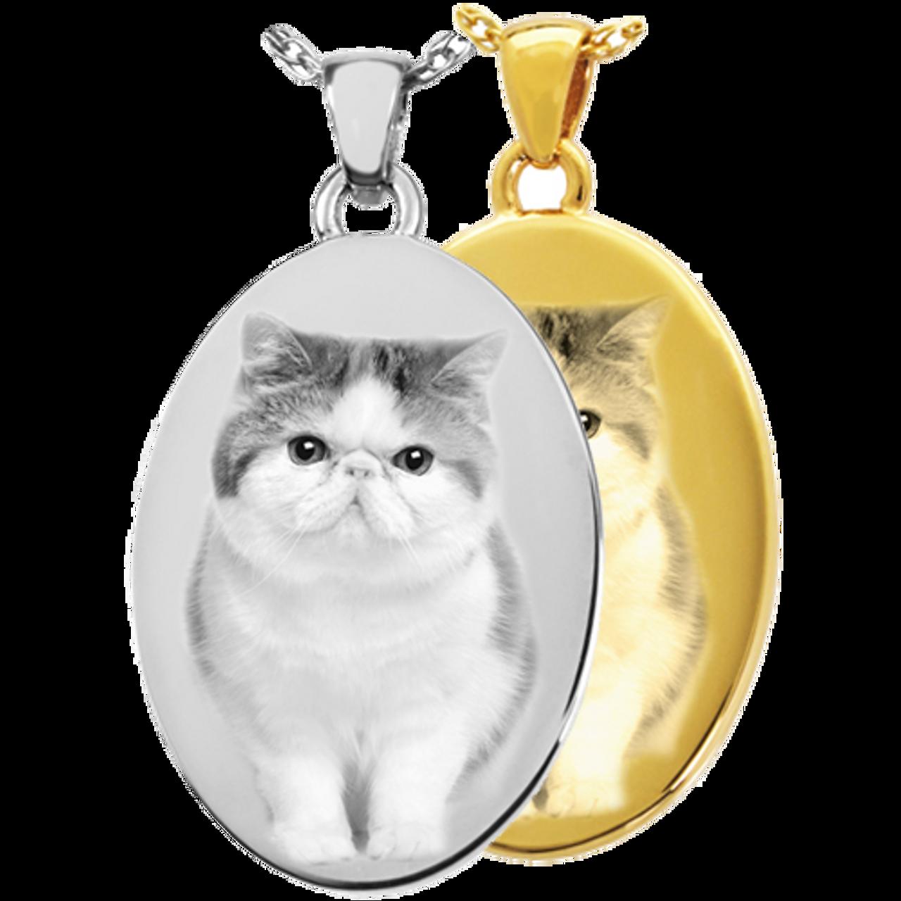 Oval Pet Pendant