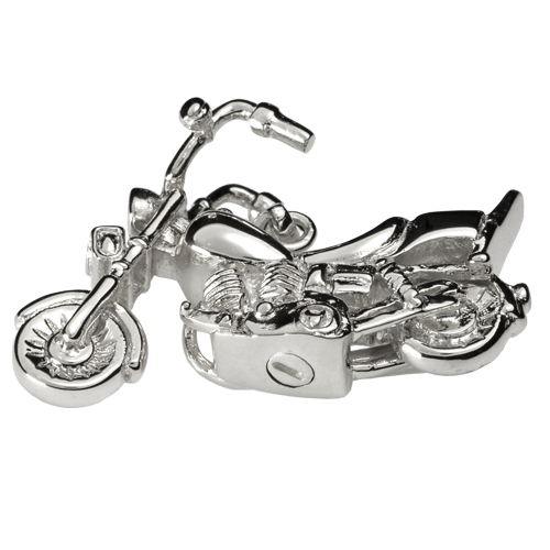 Motorcycle - Sterling Silver
