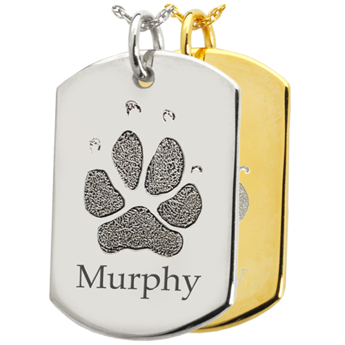 Dog Tag Pet Pendant