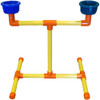 Portable Table Top Parrot Playstand - Small