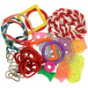 Living World Create Your Own Acrylic Parrot Toys Fun Pack