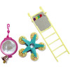 Fun Fair Parrot Toy Multipack for Small Parrots & Birds