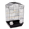 Kadah Small Parrots & Bird Cage in Black
