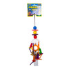 Hanging Chewable Parrot Toy With Bells