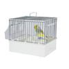 Pet Ting Small Parrots & Birds Transport Cage - White