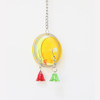 Spin and Chime Acrylic Parrot Toy