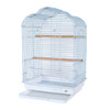 Pet Ting Daisy Small Parrot Cage - White