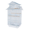 Pet Ting Tulip Small Parrot Cage - White