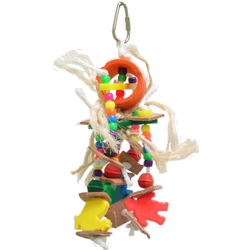 Small Toy Parrots : Buy preening paradise rope parrot toy from essentials