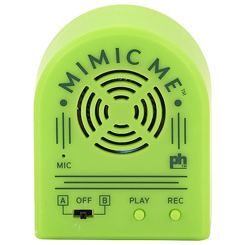 Mimic Me - Voice Recording Training Device