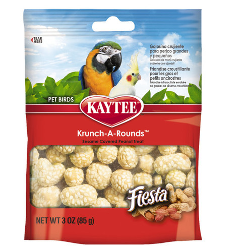 Kaytee Fiesta Krunch-A-Round Parrot Treat