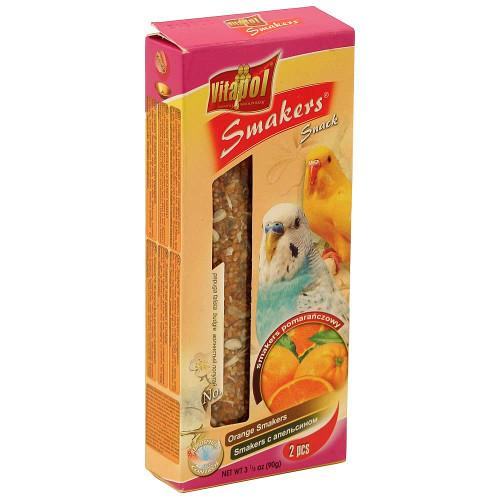 Vitapol Budgie Treat Sticks Twinpack - Orange