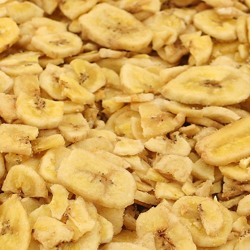 Tidymix Banana Chips 500gr Parrot Treat