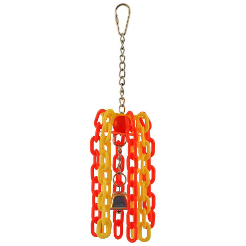 Chain Dangler Parrot Toy