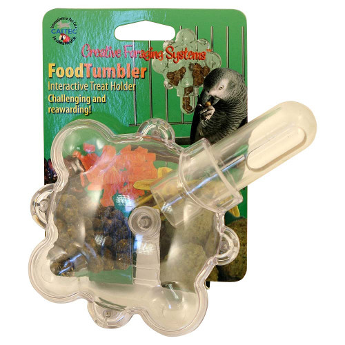 Food Tumbler Foraging Parrot Toy