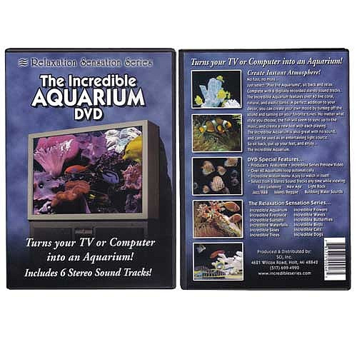 The Incredible Aquarium DVD