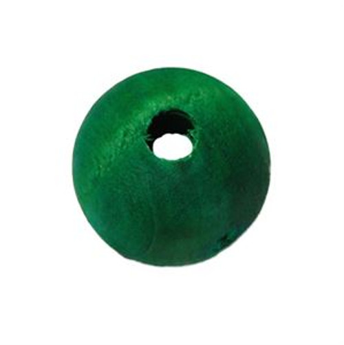 Colourful Wood Round Beads - Parrot Toy Part - Pack of 20