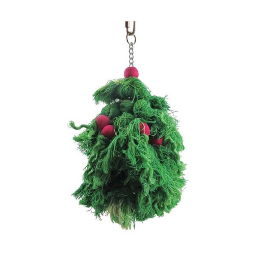 Cotton Wreath Preening Parrot Toy - Large