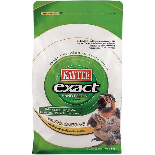 Kaytee Exact Hand Feeding Formula Macaw 5lb