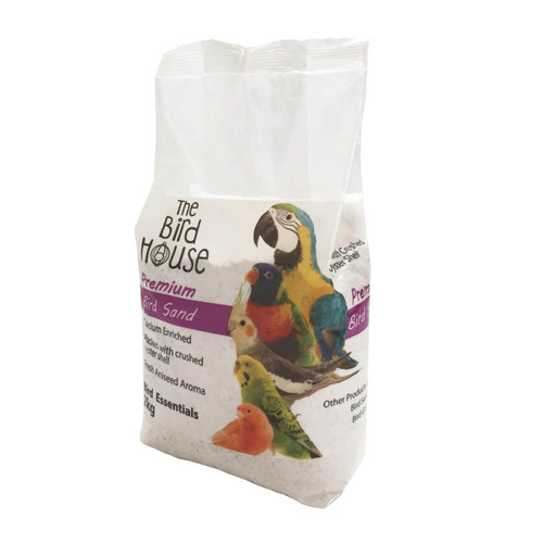 Premium Sand for Parrot & Bird - 2Kg