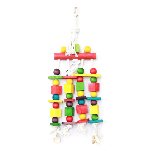 Blocks 'n' Beads Parrot Toy
