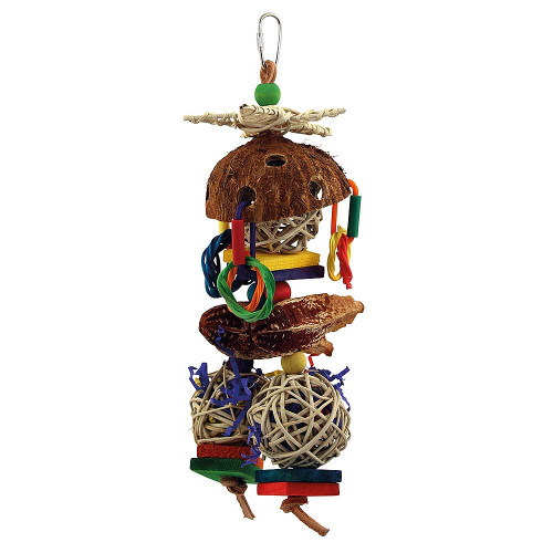 Coco Loco Parrot Toy Chewable