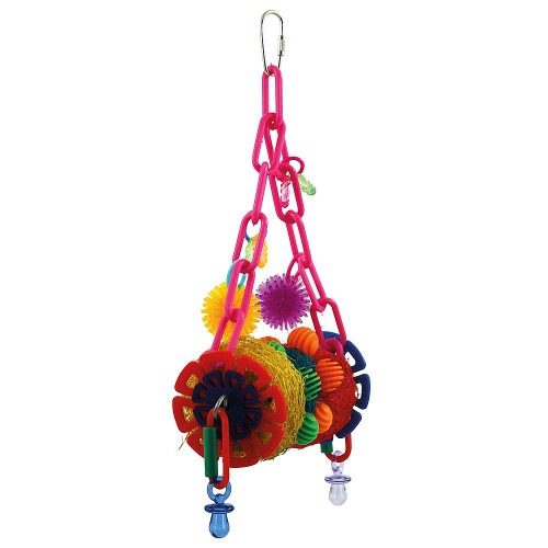 Clowning Around Parrot Toy