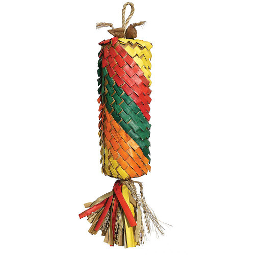 Woven Wonders Coloured Pinata Parrot Toy - Large