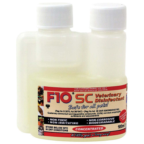 F10 SC Super Concentrate Disinfectant 100ml