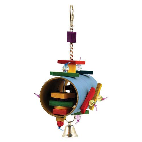 Barrel of Surprises Chewable Parrot Toy