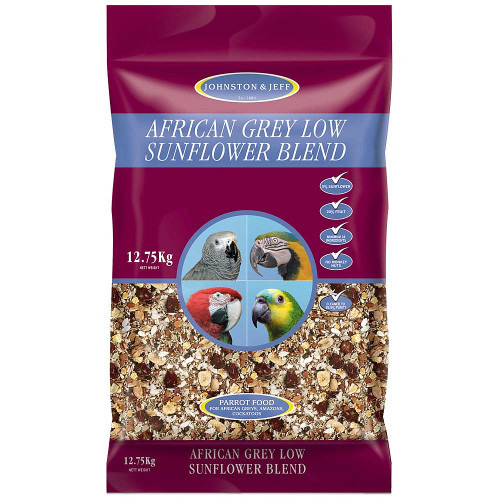 Johnston & Jeff Low Sunflower Seed Mix for African Greys