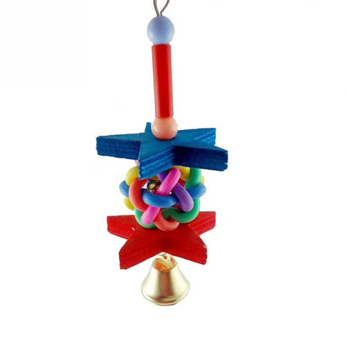 Reach for the Stars Bell Parrot Toy