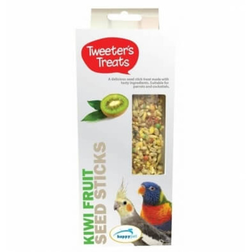 Tweeter's Treats Seed Sticks For Parrots - Kiwi