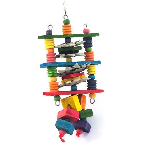 Turnstile Parrot Toy