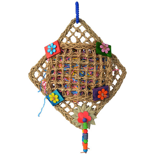 Double Pocket Delight Parrot Toy