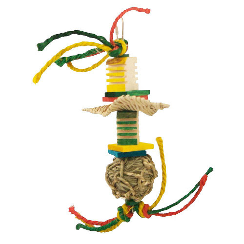 Groovy Surfer Parrot Toy