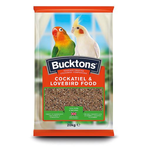 Bucktons Cockatiel & Lovebird Mix