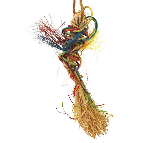 Fire Fly Woven Parrot Toy