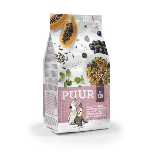 PUUR Cockatiel & Cockatoo Seed Mix 750g