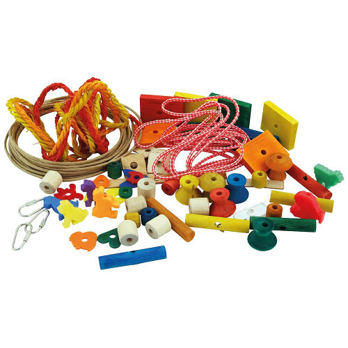 Do It Yourself Parrot Toy Making Kit - Small