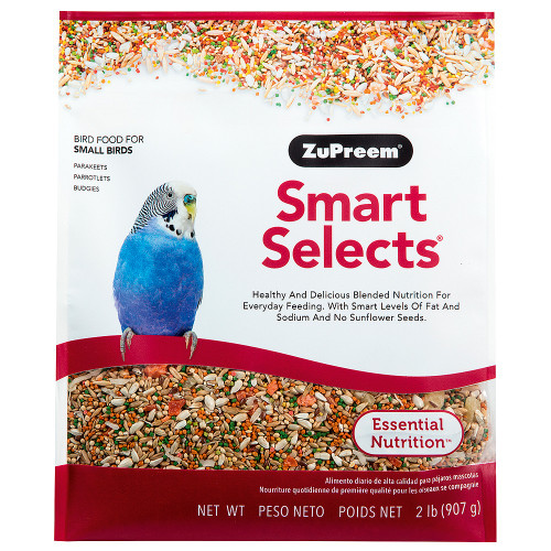 ZuPreem Smart Selects - Budgie Food