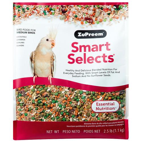 ZuPreem Smart Selects - Cockatiel & Lovebird Food
