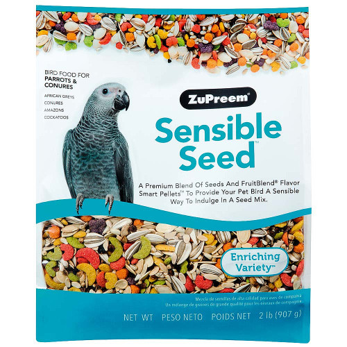 ZuPreem Sensible Seed with Smart Pellets for Medium to Large Parrots