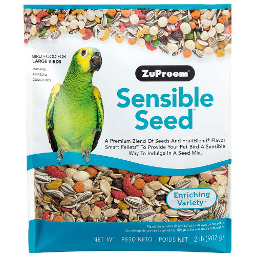 ZuPreem Sensible Seed with Smart Pellets for Large Parrots