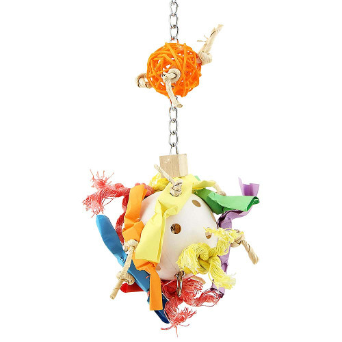 Candy Crunch Ball Parrot Toy - Medium
